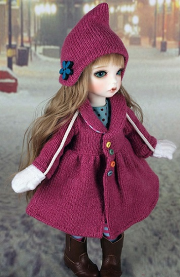 [Kokoma] Winter - Pink Set
